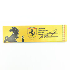 Automotive metal stickers  badge signs aluminum body stickers Fit for Ferrari