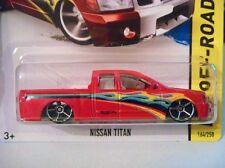 2013 HOT WHEELS - NISSAN TITAN - 1/64 - KMART EXCLUSIVE