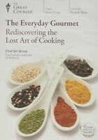 Everyday Gourmet Rediscovering the Lost Art of Cooking Instructional Cooking DVD