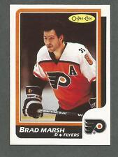 1986-87 OPC O-Pee-Chee Hockey Brad Marsh #175 Philadelphia Flyers NM/MT