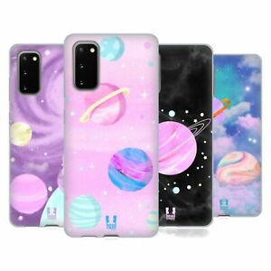 HEAD CASE DESIGNS PASTEL SPACE SOFT GEL CASE FOR SAMSUNG PHONES 1