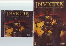 INVICTUS : IN THE SHADOW OF OLYMPUS - 2000 RPG RTS PC GAME - JC EDITION & MANUAL