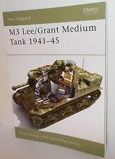Osprey/New Vanguard - M3 Lee Grant Medium Tank 1941-45 - 48 Pages - (Book)