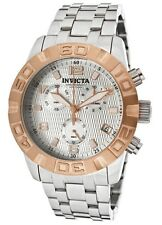 New Mens Invicta 11451 Pro Diver Grand Swiss Chronograph Stainless Steel Watch