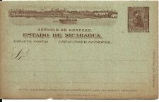Early Nicaragua Postal Card- 1899