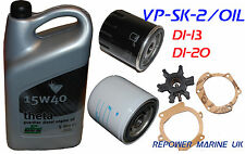 Service Kit & OIl for Volvo Penta D1-13, D1-20, MD2010, MD2020 replaces 21189380