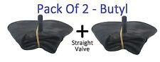 2 Pack Grigia Alta Qualità 3,50 X 8 innertube TR13 / CARRIOLA / tubo interno.