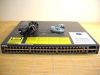 Cisco Catalyst WS-C4948-10GE-E 4948 48x Gigabit + 2x 10 Gbit/s Switch L3 Image