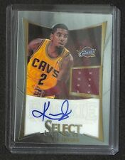 2012-13 Select Jersey Autograph #236 Kyrie Irving No 24 of 149