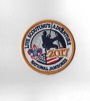 2017 National Scout Jamboree Live Scouting Adventure Patch [NJ1354]