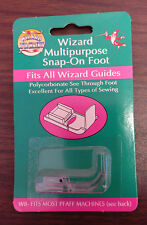 W8 Bonfit Wizard Sewing Machine Attachments Accessory Snap On Clear Foot
