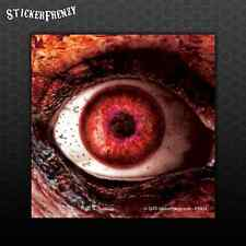 Bloody Zombie Eye Sticker - Car Truck Bumper Sticker vinyl Decal Biohazard #FS91