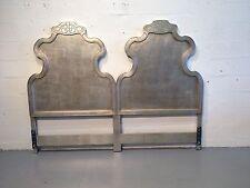 king headboard hollywood regency silver leaf dixon powdermaker rucker industries