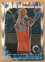 2019-20 NBA Hoops Premium Stock Darius Bazley Rookie Silver Flash Prizm RC #249
