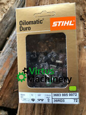 "Stihl Duro Carbide Chain 20""/50cm, 3/8""Pitch, .063"" Gauge,72 Drive Links,Inc GST"