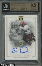 2016 Panini Impeccable Gold Emmanuel Ogbah RC Rookie AUTO 6/10 BGS 9.5 w/ 10