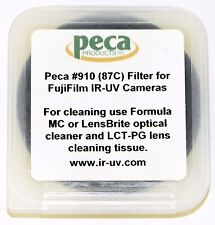 Peca 67mm Infrared Passing Filter 910 (Wratten 87C) Perfect Condition