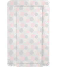 Baby changing mat baby shower gift present - Pink and Grey Flowers Design