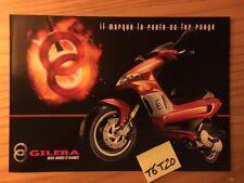Gilera Runner 125 / 180 50 Stalker 50 scooter prospectus moto brochure dépliant