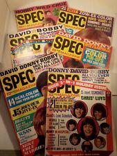 "SIX original 1971-vintage (16 Mag. Pub.) Teen ""SPEC Magazines"" 6-pc. LOT!"