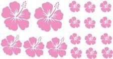 Wandtattoo Kinderzimmer Mädchen Blumen Aufkleber HIBSIKUS Blüten Sticker
