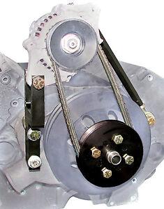 S/B Chevy Denso Mini Alternator Mounting Bracket Kit for Short Water Pump  #1621