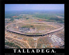 TALLADEGA SUPERSPEEDWAY CLASSIC c.2001 Aerial View NASCAR POSTER Print