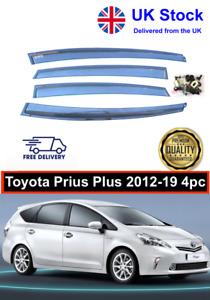 Toyota Prius Plus 2012-19 BWS Wind Deflectors UK Stock