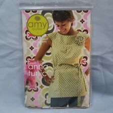 Anna Tunic Midwest Modern Sewing Pattern 2007 by Amy Butler Dress Flower & Cami
