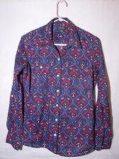 Lucky Brand Convertible Paisly Print Portofino Shirt