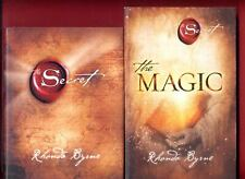2 books by Rhonda Byrne - The Secret + The Magic - Free Shipping!