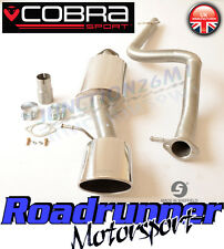 Cobra SE03 Seat Leon Cupra MK1 Stainless Exhaust System Cat Back Non Resonate 1M
