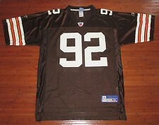 Reebok NFL Equipment Courtney Brown Cleveland Browns Mens Home Jersey Brown-M
