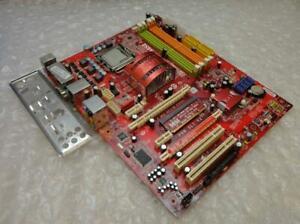 Genuine MSI P6N SLI V2 Socket LGA 775 Motherboard with Backplate