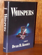 Dean Koontz WHISPERS 1st Edition Hardcover FIRST PRINTING 1980 Rare Unread!
