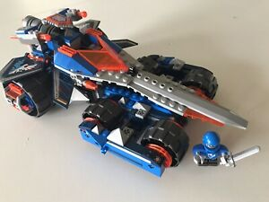 Lego Nexo Knights 70315 Clay's Rumble Blade. Used , with Instructions no box.