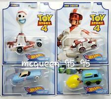 2019 Hot Wheels Disney Pixar Toy Story Series 4 Forky Bo Peep Duke Caboom