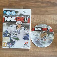 NINTENDO WII NHL 2K11 (2011) - Ice Hockey - Rare