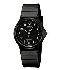 GENUINE Casio Watch MQ-24-1B NEW Mens Unisex Quatz Black Analogue FREE SHIPPING