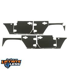 Rugged Ridge 12300.53 Black Magnetic Protection Panel Kit Pair for 07-18 Jeep JK