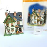 Department 56 D56 Snow Village Halloween 55315 Spooky Farmhouse Tested Works
