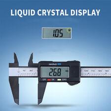 Plastic 150MM 6inch LCD Digital Electronic Vernier Caliper Gauge Micrometer Good
