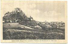 CIANO D'ENZA - CASTELLO E PANORAMA DI ROSSENA (REGGIO EMILIA) 1942