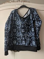 Black milk mono noveau sweater size small