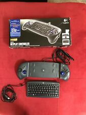 Logitech Netplay Controller PS2 PS1 PS Sony PlayStation 2 USB PC Keyboard Game