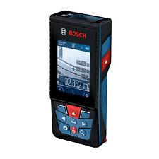 Bosch Laser-Entfernungsmesser GLM 120 C mit Kamera im Set mit Schutztasche