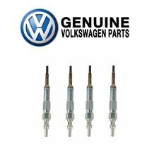 For Volkswagen Jetta Passat Set Of 4 Steel Glow Plugs 10 mm Genuine N10591607