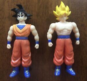 Rare Yutaka Dragon Ball Z Son Goku Sofubi Set Hearty Robin Super Saiyan Goku