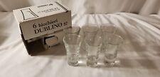 6 Bicchieri Dublino  Shot glasses Vintage Set Inetri di fidenza