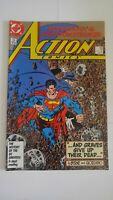 Superman In Action Comics #585 February 1987 DC Comics